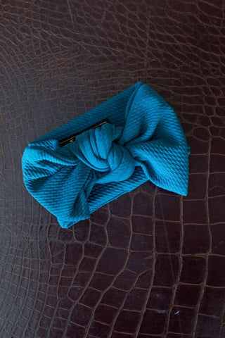 L&B Jade Big Bow Baby Headband