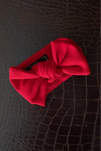L&B Red Big Bow Baby Headband