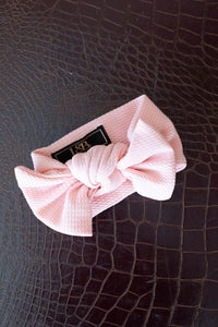 L&B Rose Big Bow Baby Headband