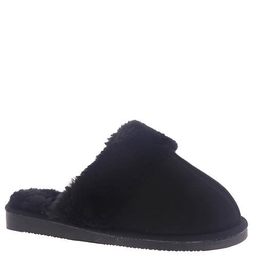 Black Snooze Slippers