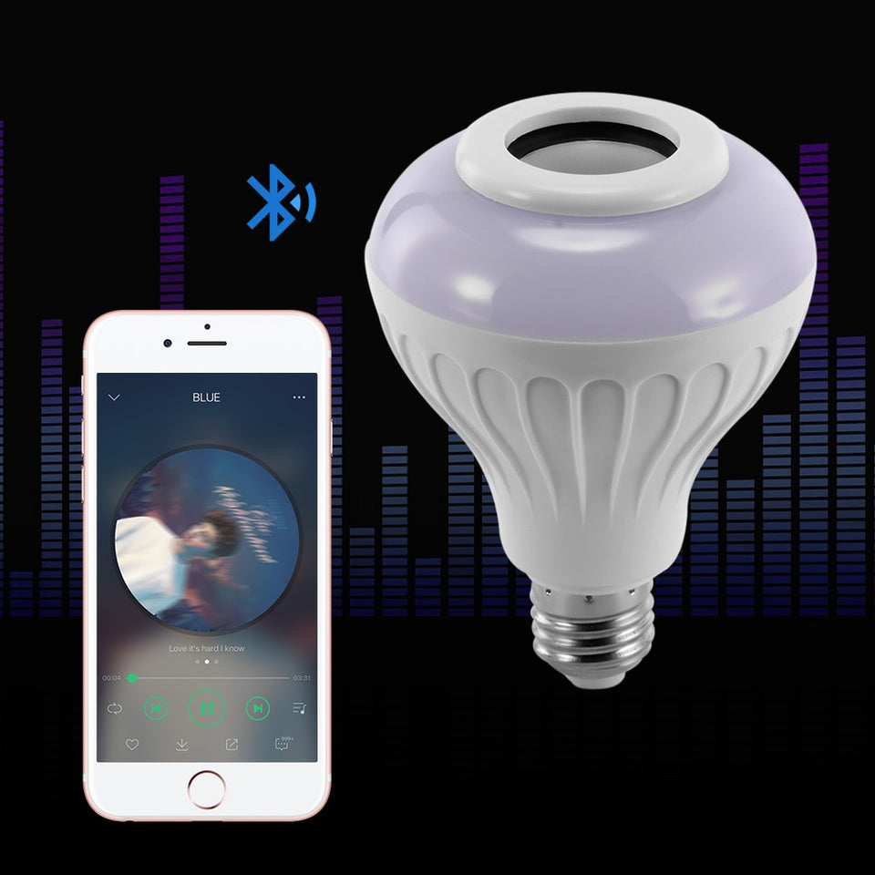 Smart LED light Bluetooth speaker