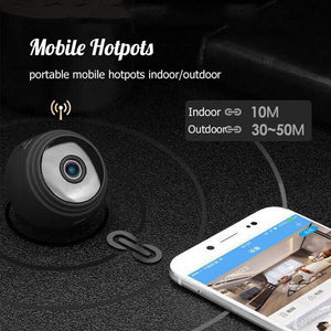 For Home Security - 1080P Night Vision IP Camera with App Remote Control