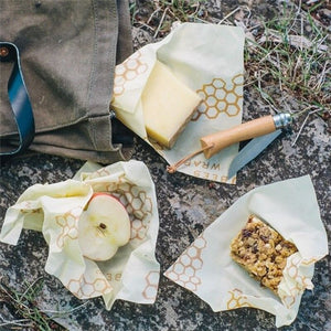 3PCS Reusable Beeswax Food Wraps | Must-Have for every household