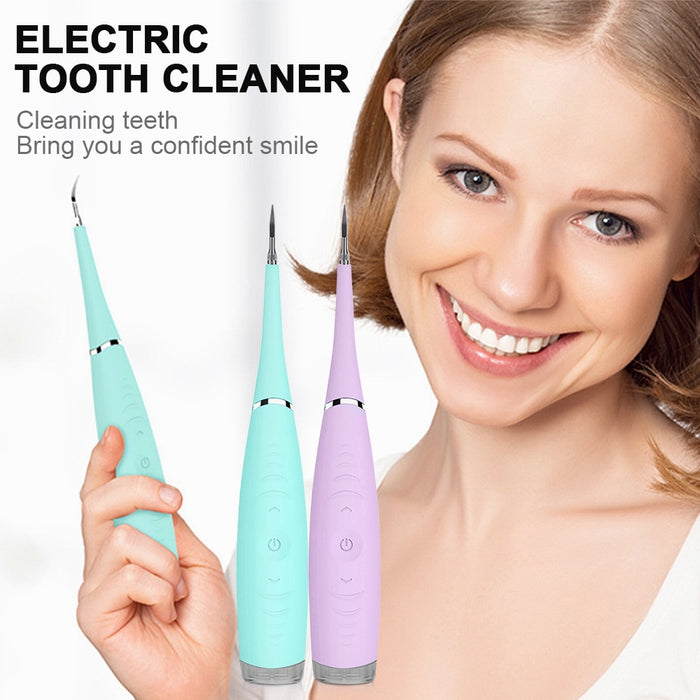 Electric Ultrasonic Tooth Cleaner