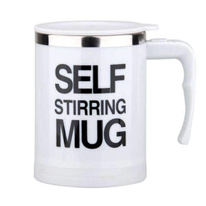 Automatic Mug One-Button Electric Stirring Cup Coffee Milk Stirring Cup Lazy Person Special Stainless Steel Juice Mixing Cup - MySlimStyle