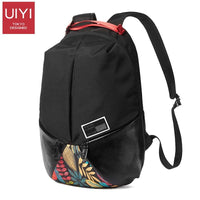 Casual large capacity printing backpack - MySlimStyle