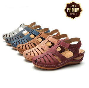 Dr. CARE™ - PREMIUM ORTHOPEDIC ROUND TOE SANDALS - MySlimStyle