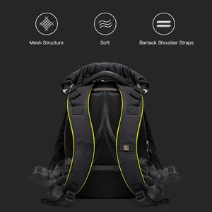 Fashion Irregular Large Capacity Water Resistant Laptop Backpack - MySlimStyle