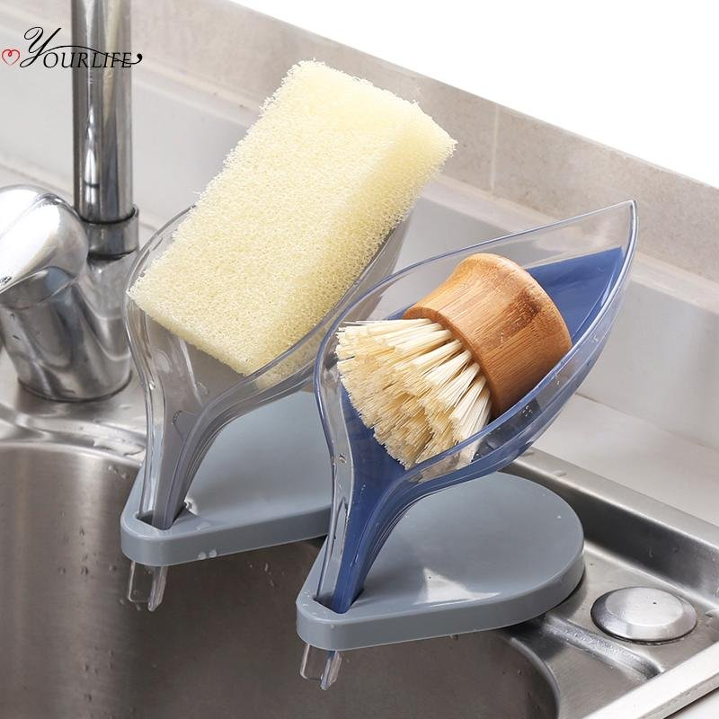 Leafology Decorative Drainage Soap Holder - MySlimStyle