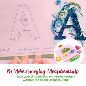 Paper Quilling Board with Pins - MySlimStyle