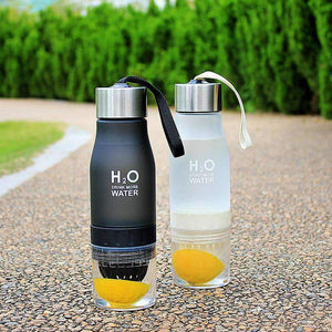Xmas Gift 650ml Infuser Water Bottle plastic Fruit infusion Kids Drink Outdoor Sports bottle Juice lemon Portable Kettle - MySlimStyle