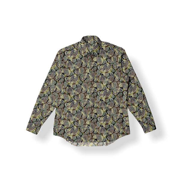 Men's Button-Up Flannel- Camo BD