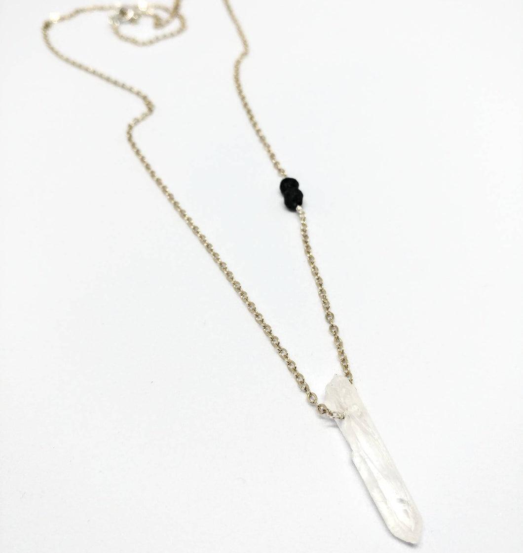 Quartz Diffuser Necklace