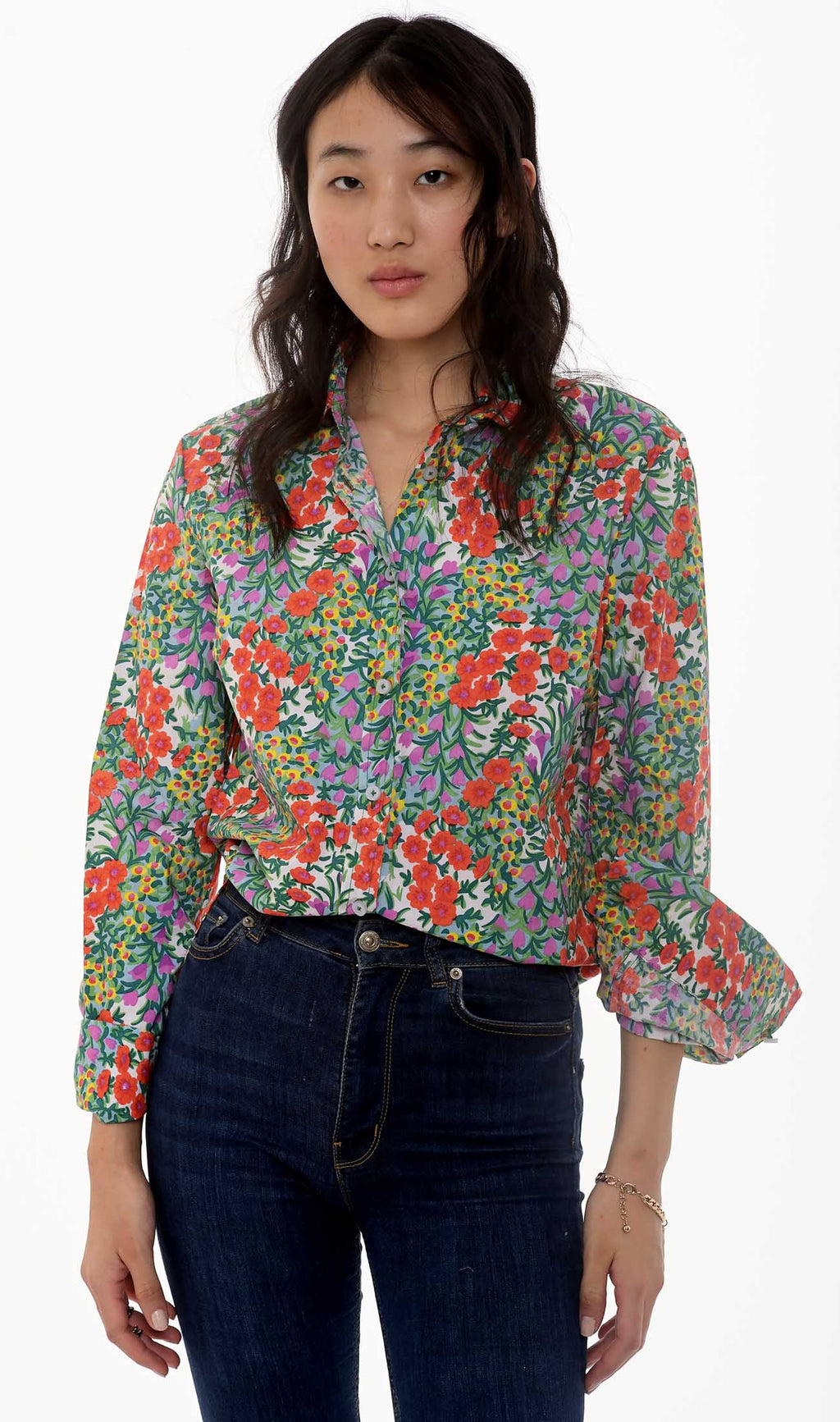 Alfreda Shirt Cottage Garden