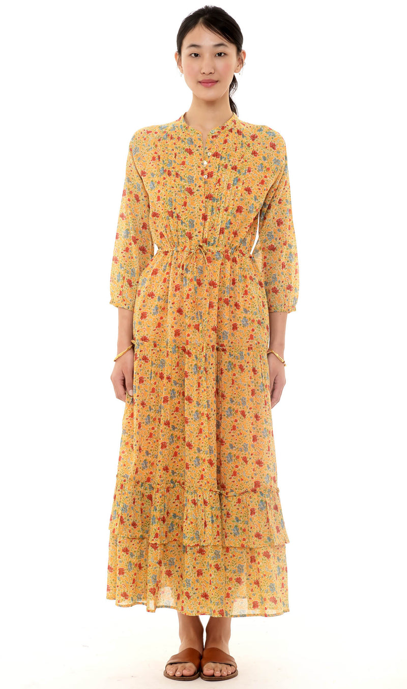 Sierra Dress Fiesta Buttercup