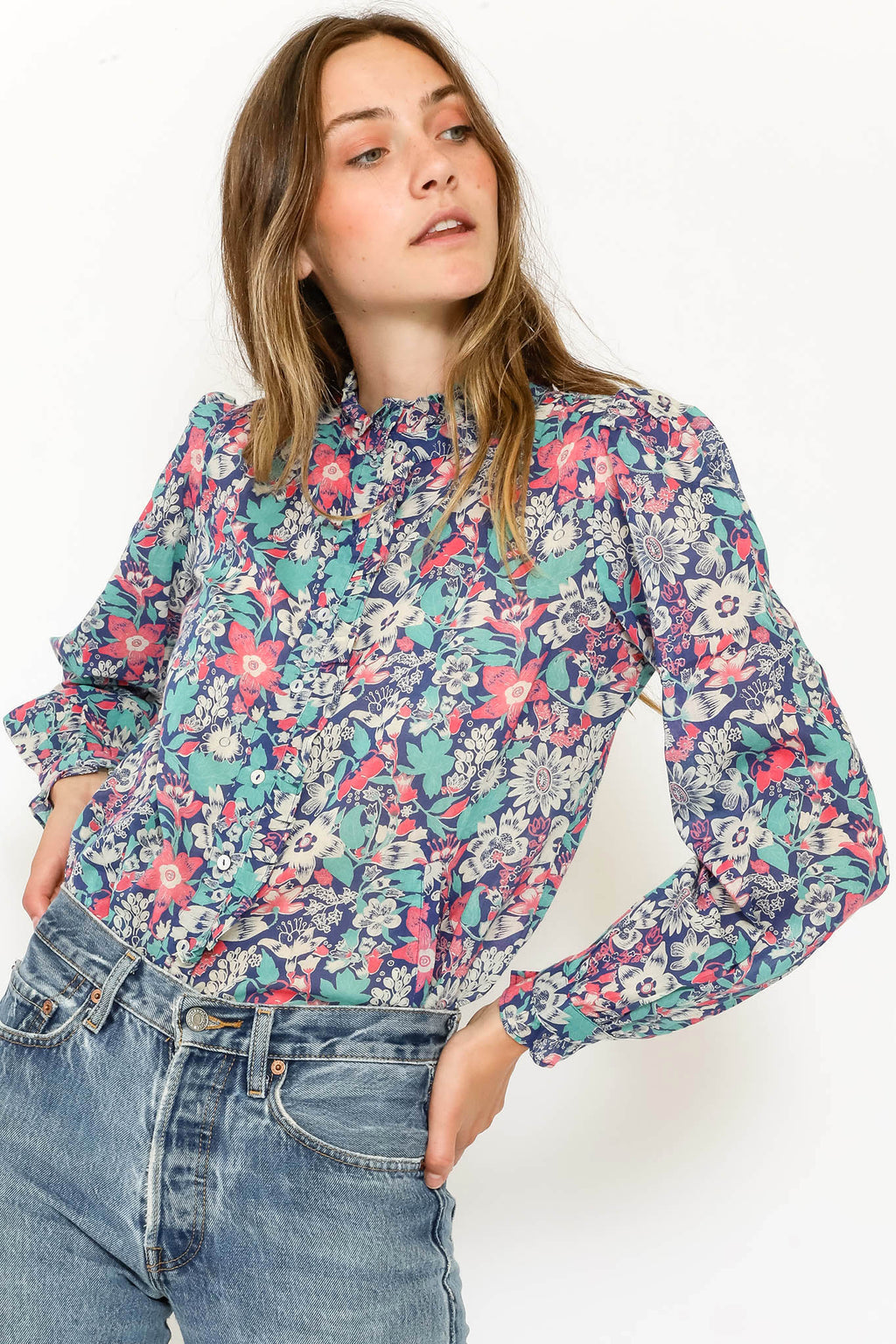 Chrissie Shirt Anna's Wild Garden Blueprint