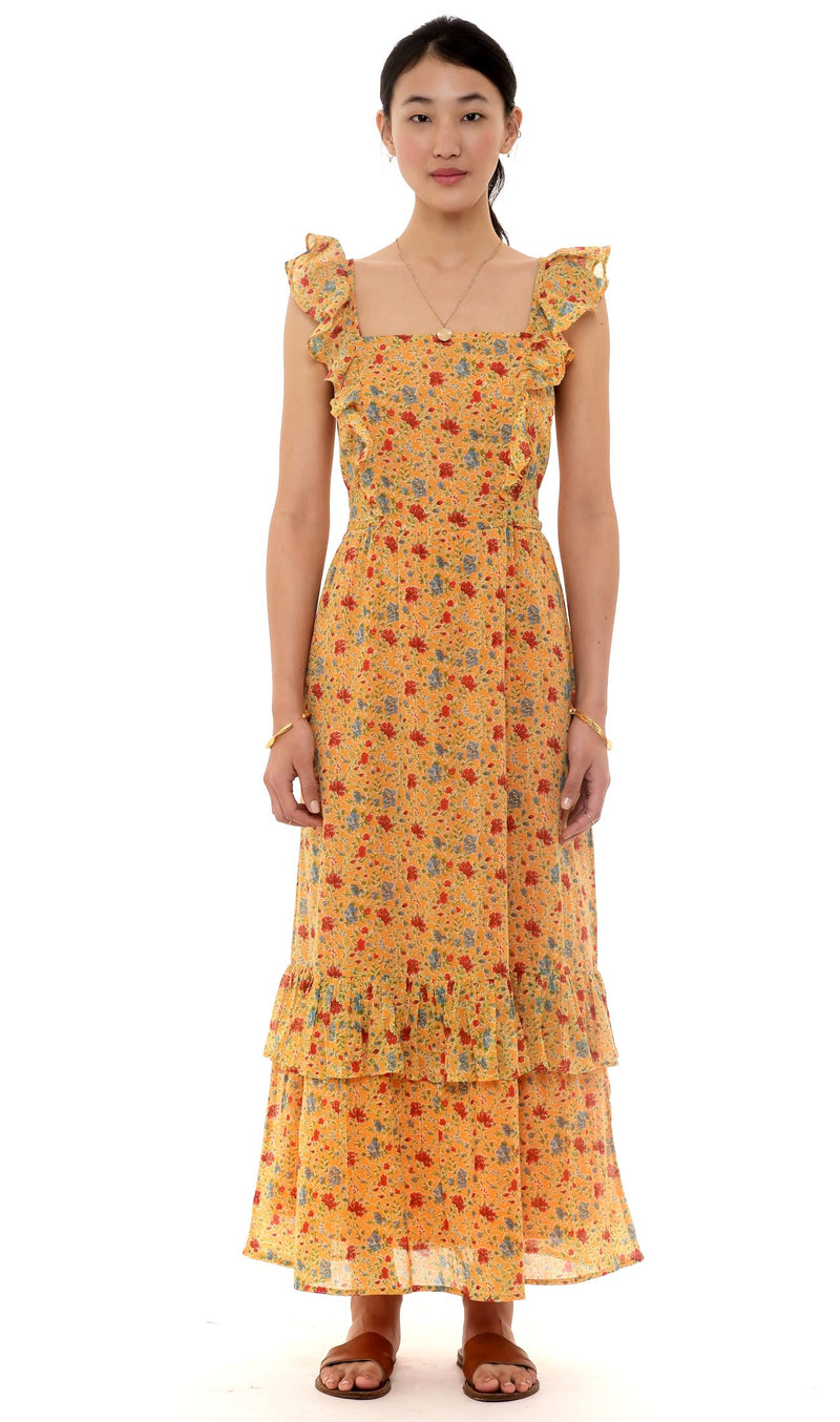 Banjanan Cinta Dress Siesta Bright Marigold