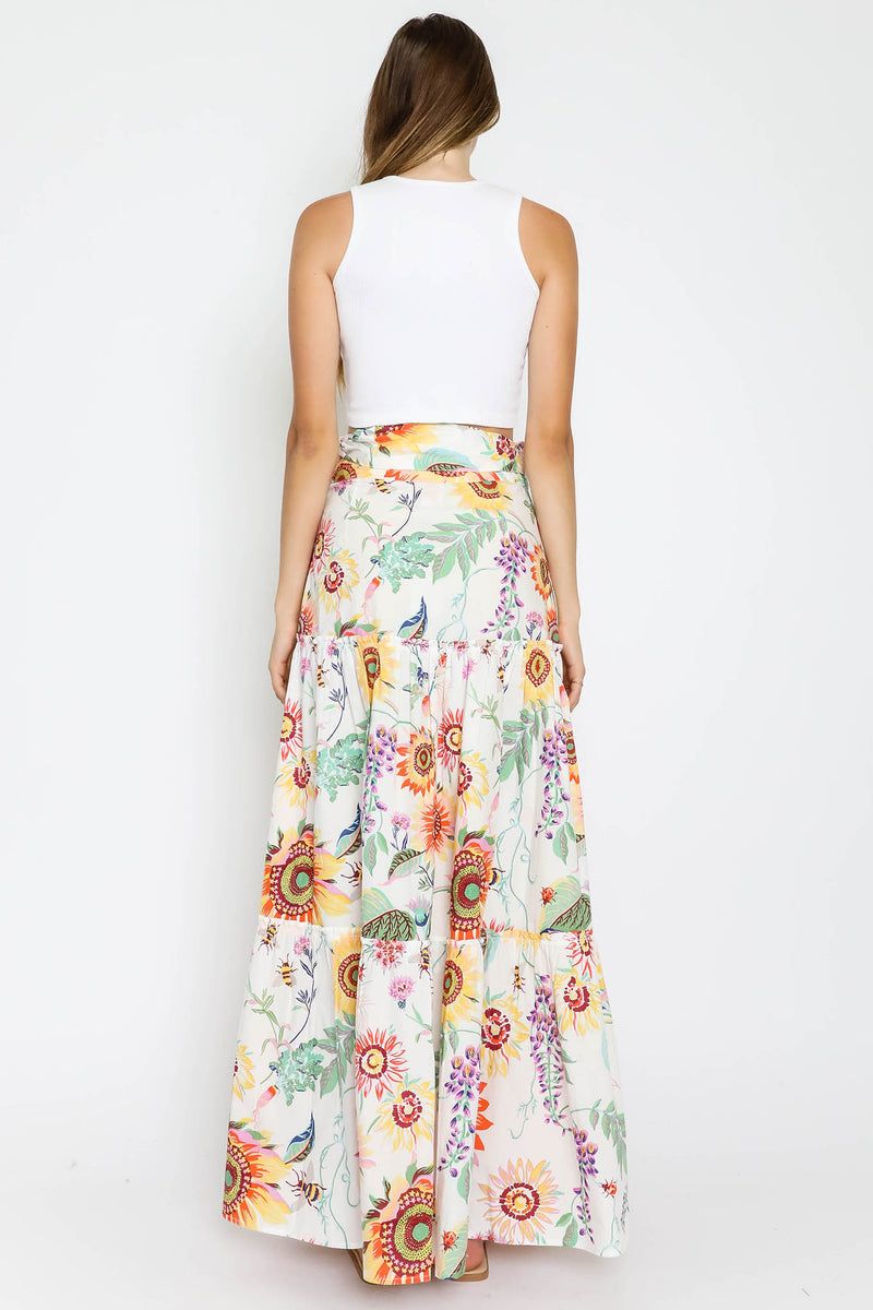 Discovery Skirt Mid-Summer Bumble White