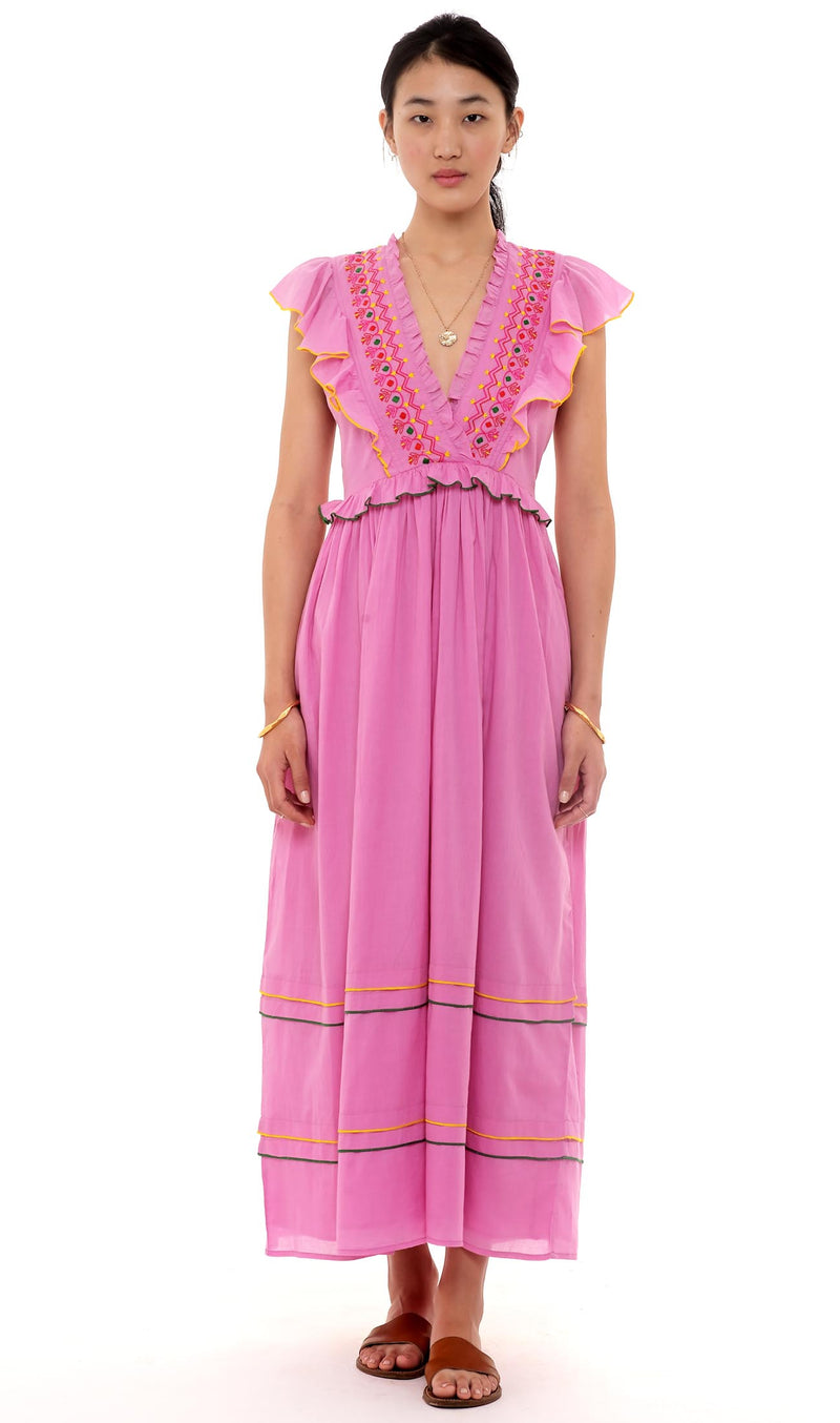 Banjanan Honey Dress Pink