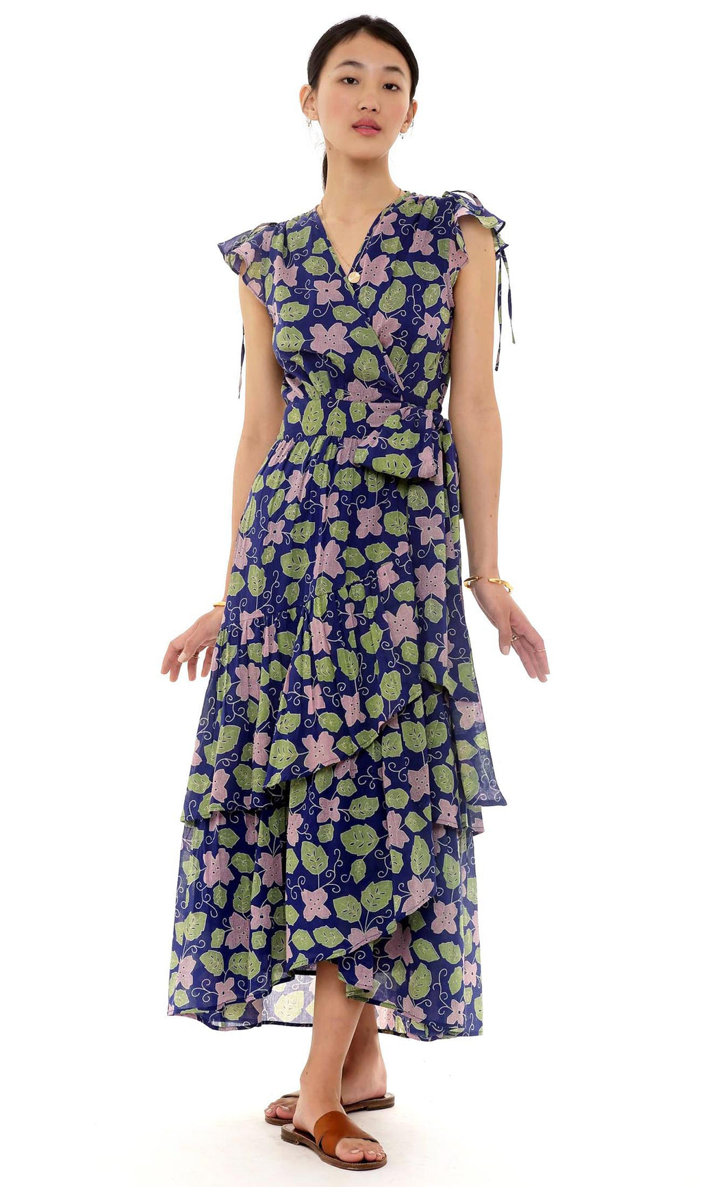 Banjanan Mercy Dress Familia Flor Blueprint
