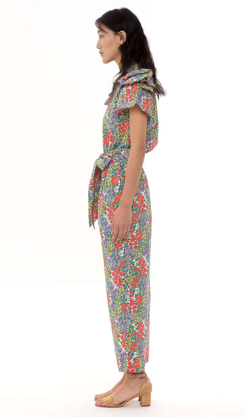Olivia Jumpsuit Cottage Garden