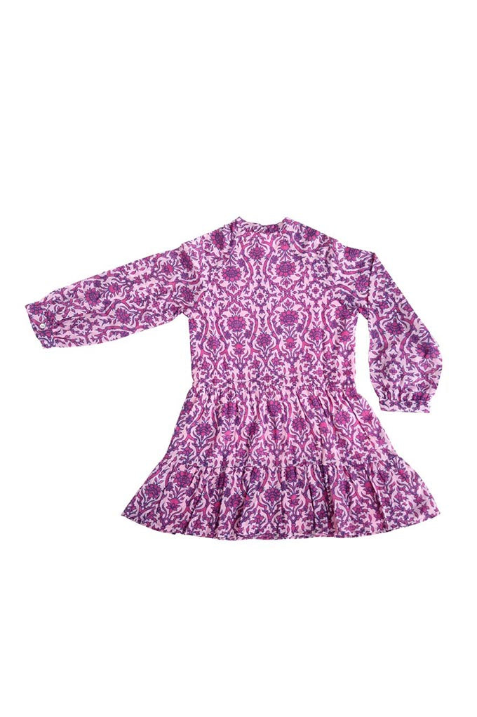 Kids Bazaar Dress Infanta Floral Lilac