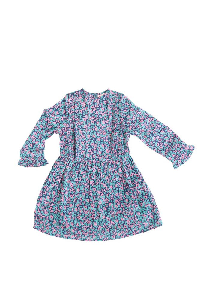 Chota Miranda Dress, Miranda Floral Blueprint