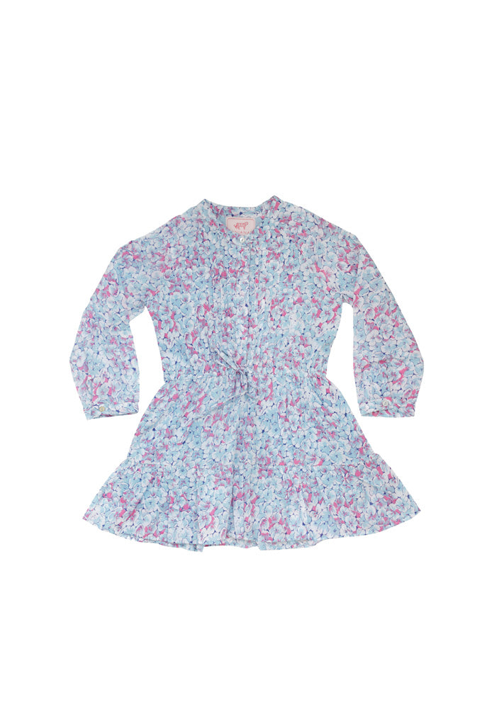 Kids Bazaar Dress Clover Field White Blue