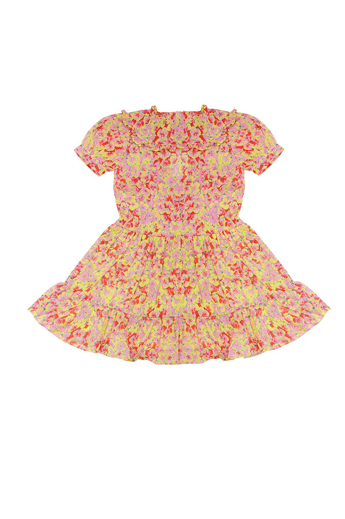 Kids Sherry Dress Clover Field Yellow