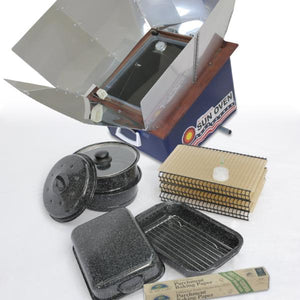 All American Sun Oven® + Dehydrating and Preparedness Accessory Package
