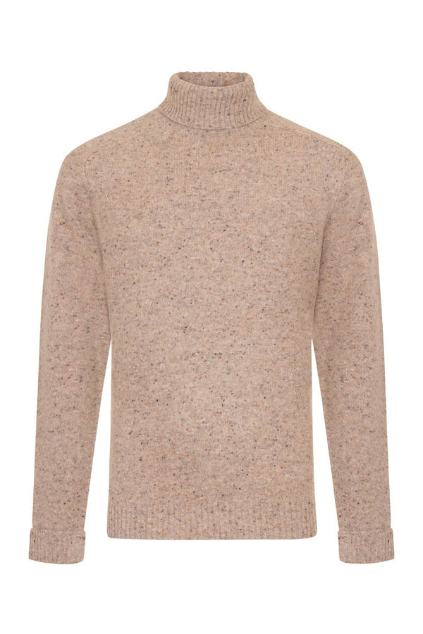 Bernard Weatherill Men's Donegal Roll Neck Knit Clare | Malford of London Savile Row and Luxury Formal Wear Sale Outlet