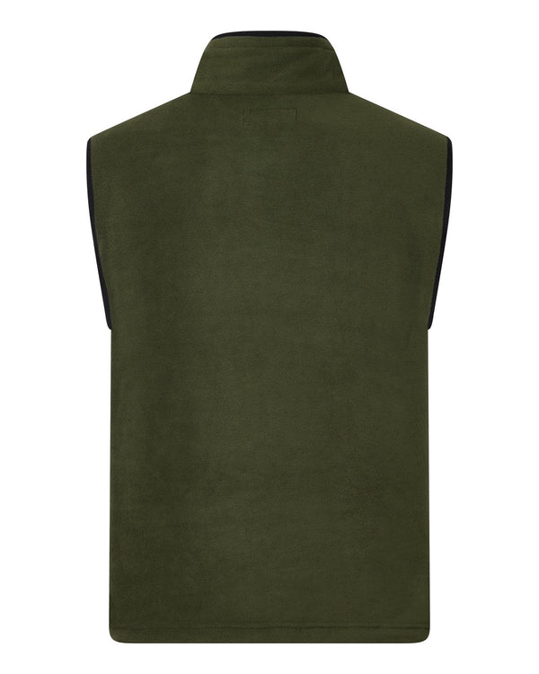 Bernard Weatherill Mens Gilet Summer Fleece Forest Savile Row Gentlemens Outfitters
