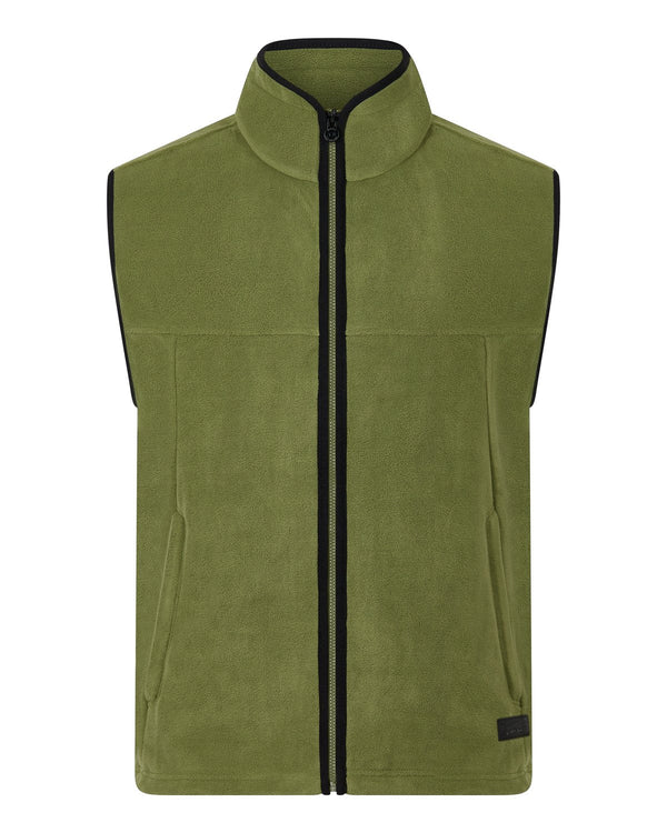 Bernard Weatherill Mens Gilet Summer Fleece Loden Savile Row Gentlemens Outfitters