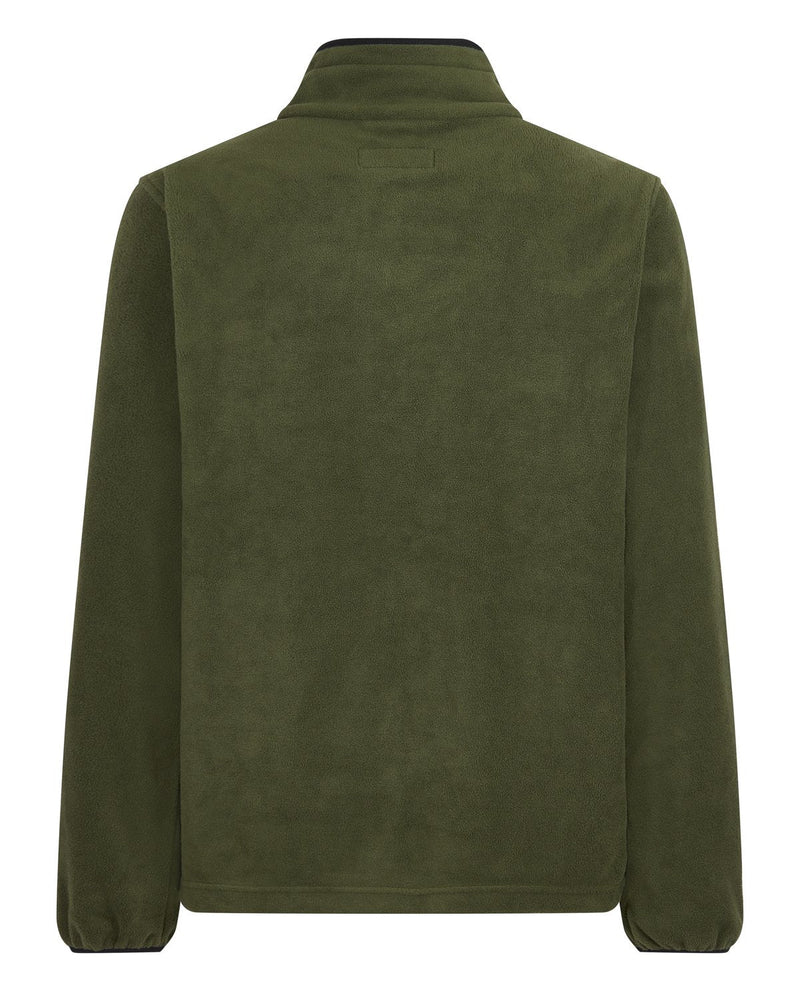 Bernard Weatherill Mens Zip Through Summer Fleece Forest Savile Row Gentlemens Outfitters