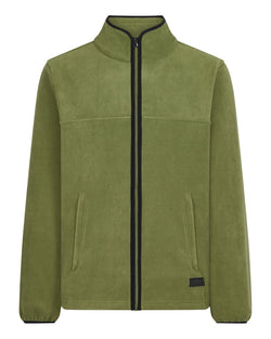 Bernard Weatherill Mens Zip Through Summer Fleece Loden Savile Row Gentlemens Outfitters
