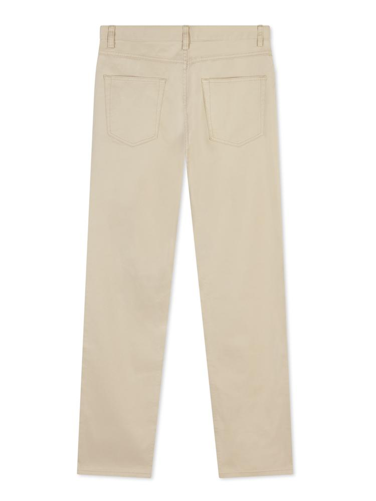 Brooks Brothers 5 pocket Cotton Jean Beige | Malford of London Savile Row and Luxury Formal Wear Sale Outlet