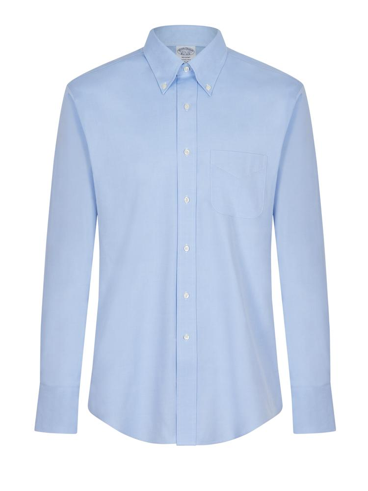 Brooks Brothers BD Shirt Sky Blue | Malford of London Savile Row and Luxury Formal Wear Sale Outlet