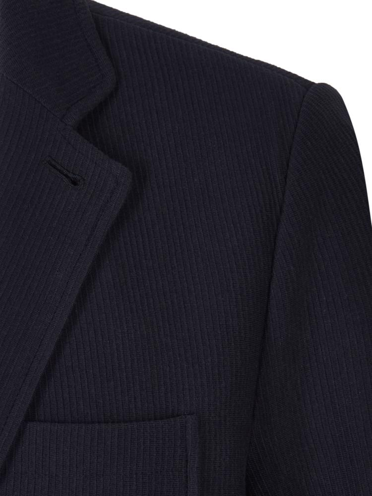 Brooks Brothers Cotton Navy Ribbed Jacket | Malford of London Savile Row and Luxury Formal Wear Sale Outlet
