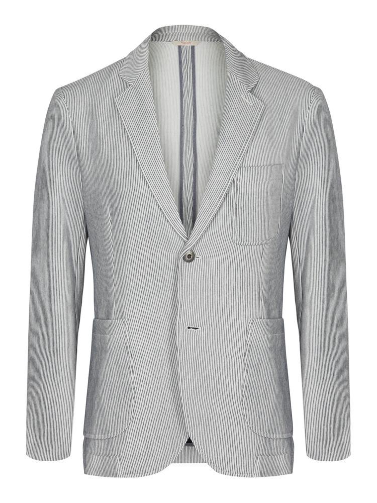 Brooks Brothers Cotton Stripe Jacket | Malford of London Savile Row and Luxury Formal Wear Sale Outlet