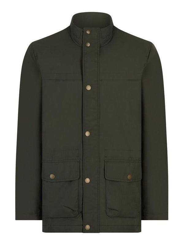 Brooks Brothers Green Field Coat | Malford of London Savile Row and Luxury Formal Wear Sale Outlet