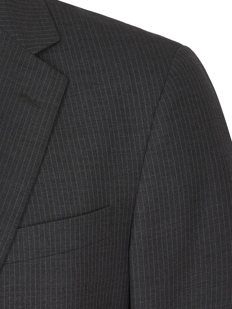 Brooks Brothers Grey Stripe Suit | Malford of London Savile Row and Luxury Formal Wear Sale Outlet