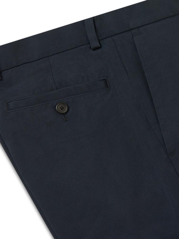 Brooks Brothers Milano Fit Chino Advantage Navy | Malford of London Savile Row and Luxury Formal Wear Sale Outlet
