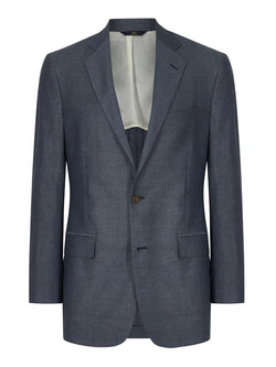 Brooks Brothers Regent Jacket Blue | Malford of London Savile Row and Luxury Formal Wear Sale Outlet