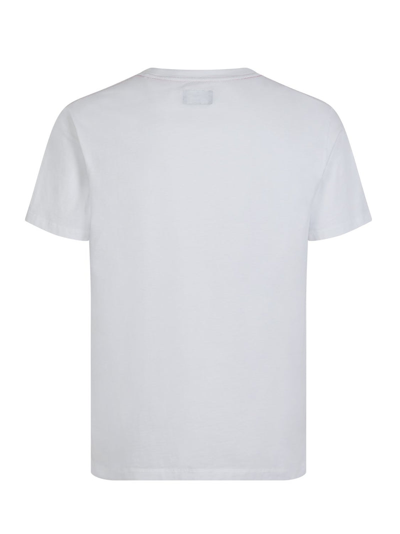Hackett Army Tee White | Malford of London Savile Row and Luxury Formal Wear Sale Outlet