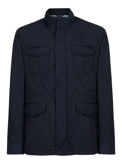 Hackett Field Coat Navy | Malford of London Savile Row and Luxury Formal Wear Sale Outlet