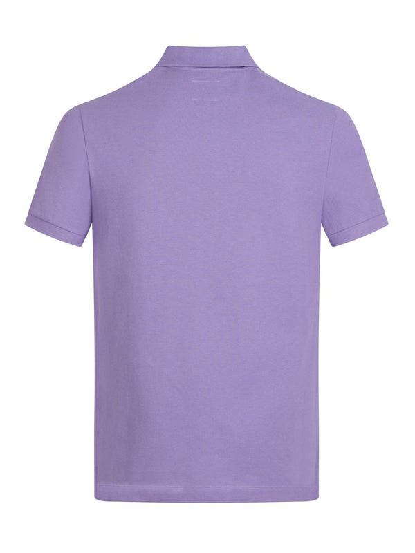 Hackett HKT Modelo Polo Lilac | Malford of London Savile Row and Luxury Formal Wear Sale Outlet
