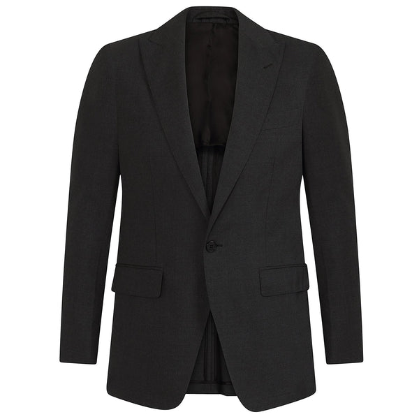 Hackett ML Plain Wool Suit Charcoal | Malford of London Savile Row and Luxury Formal Wear Sale Outlet