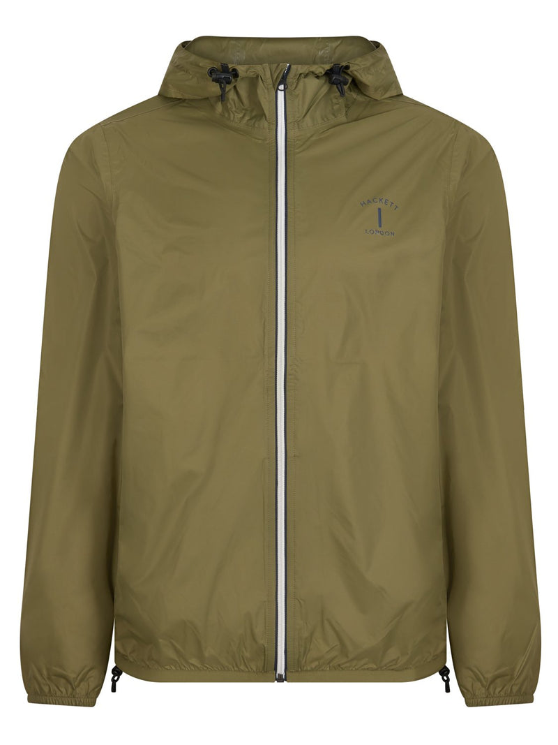 Hackett MR Classic Packable Jacket Olive | Malford of London Savile Row and Luxury Formal Wear Sale Outlet