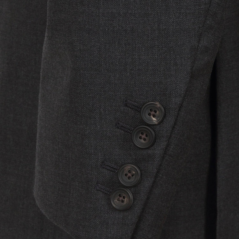 Hackett Plain Twill Suit Charcoal | Malford of London Savile Row and Luxury Formal Wear Sale Outlet