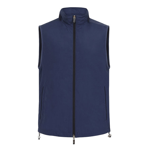 Hackett Savile Aston Martin Knit Back Gilet Navy | Malford of London Savile Row and Luxury Formal Wear Sale Outlet